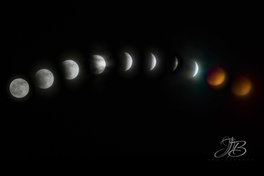 Eclipse of the Moon by Jody Baumle