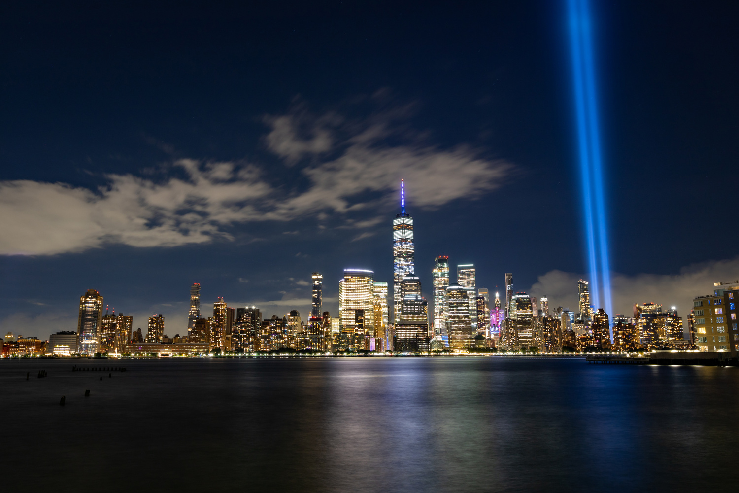 Tribute in Light 2 by robert wyrwas