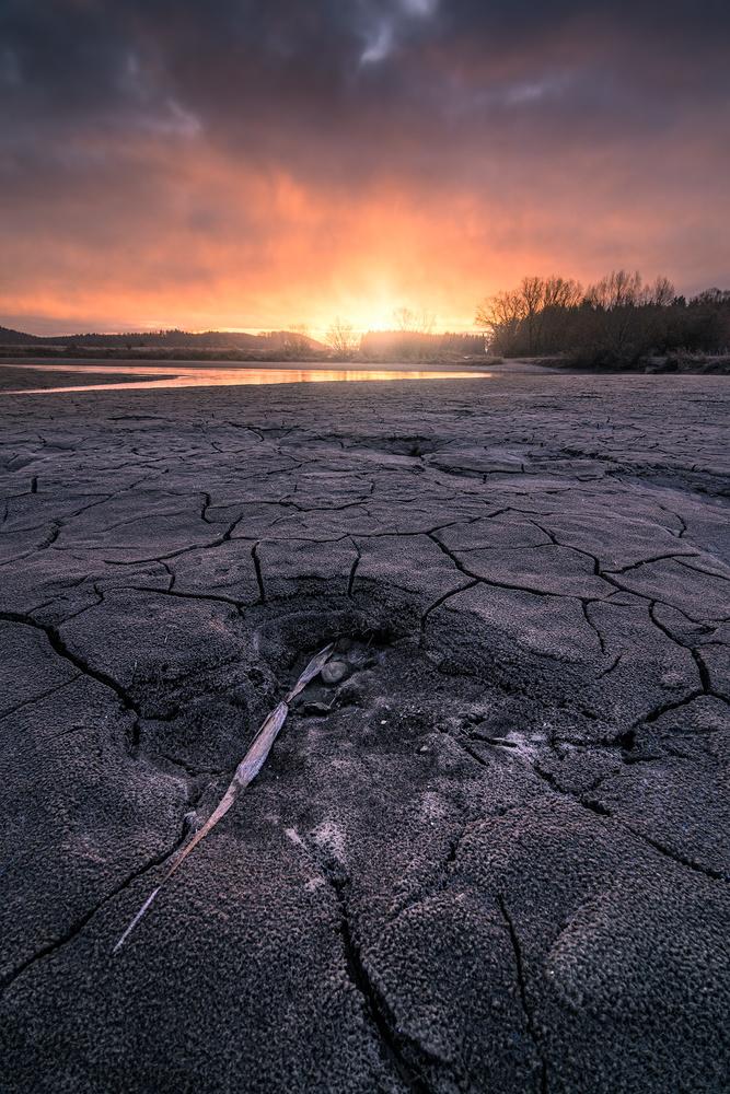 Mud Cracks by Christian Möhrle