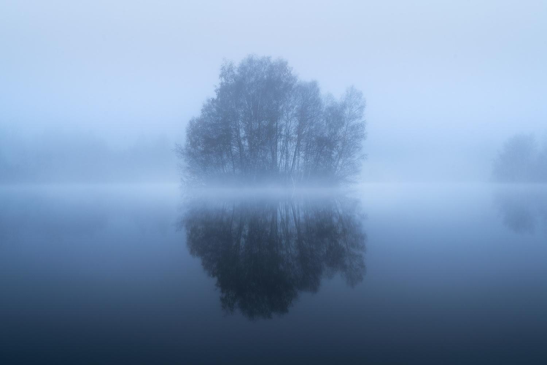 Foggy morning by Christian Möhrle