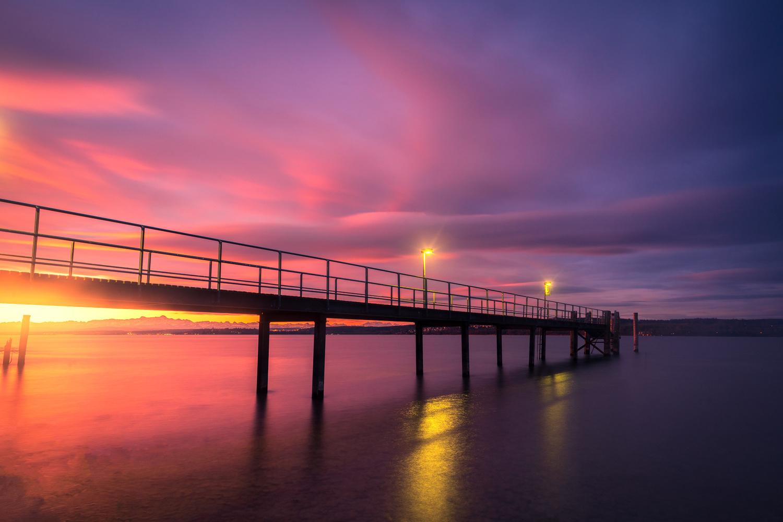 Vinbrant sunrise by Christian Möhrle