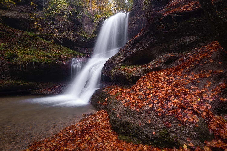 Dreamy Waterfall by Christian Möhrle