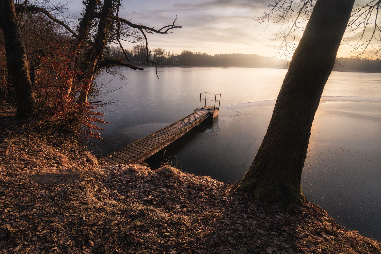 Winter sunrise by Christian Möhrle