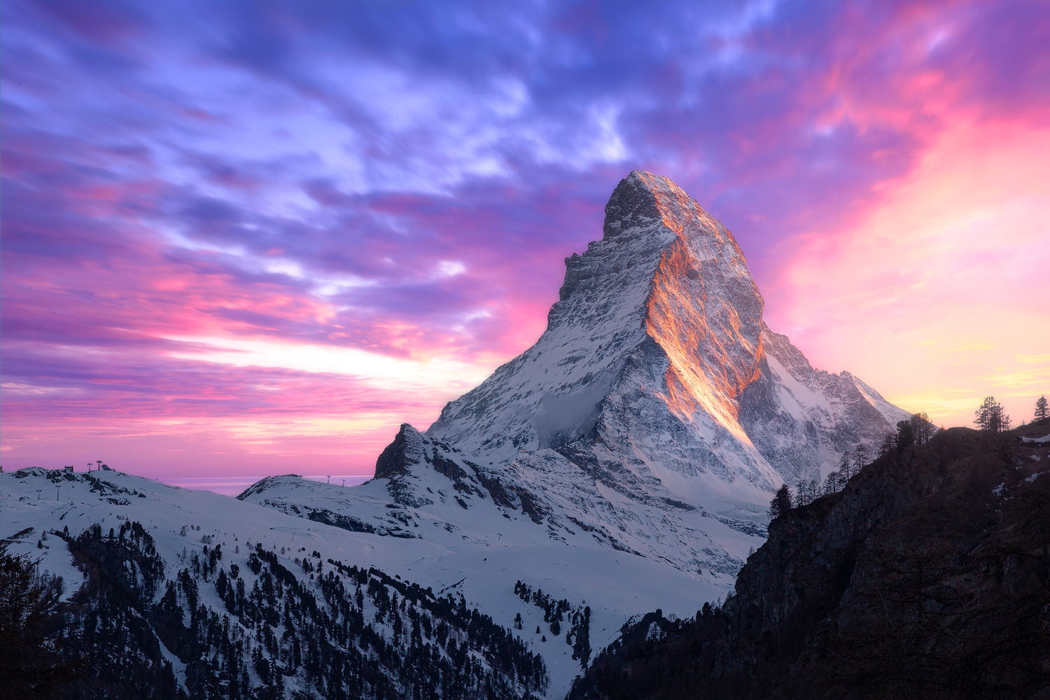 Matterhorn Sunset by Christian Möhrle