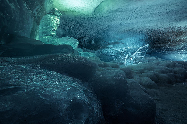 Ice Cave by Christian Möhrle