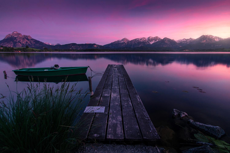 Bavarian Sunset by Christian Möhrle