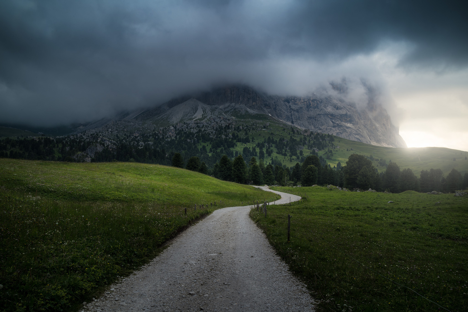Stormy Dolomites by Christian Möhrle