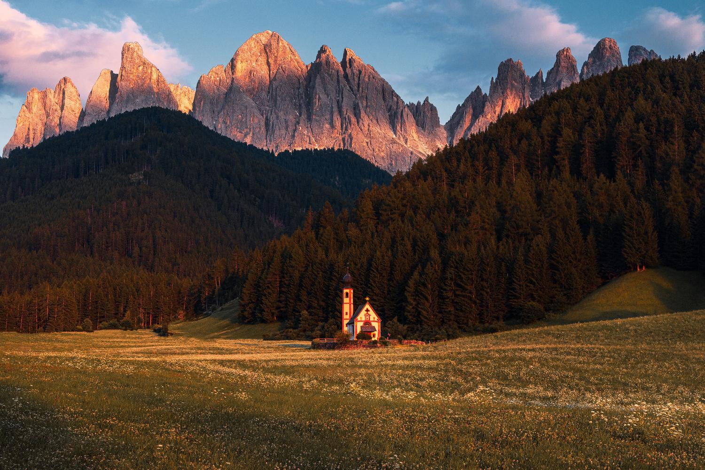 Dolomites Sunset by Christian Möhrle