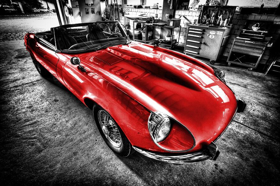 Jaguar E-Type by Christian Möhrle