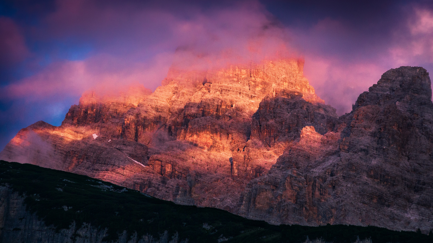 Dolomites Sunrise by Christian Möhrle