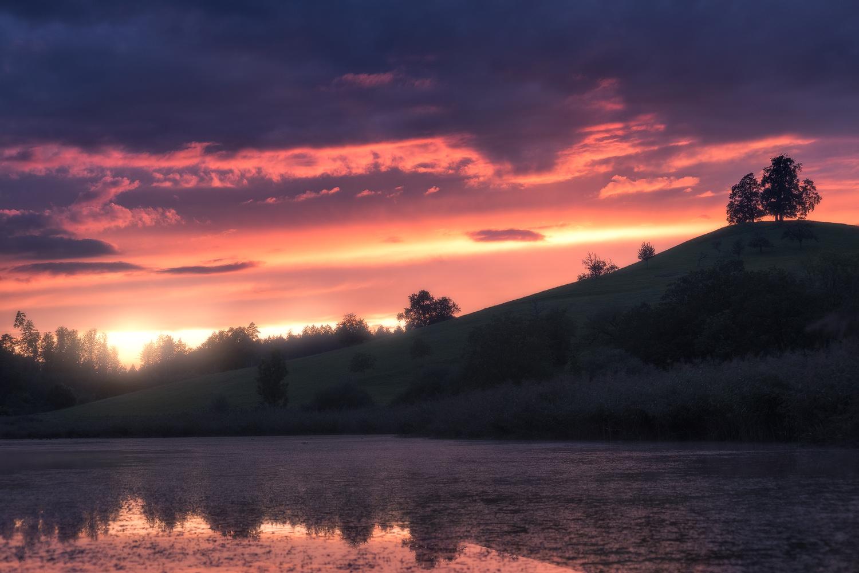 Dreamy Sunset by Christian Möhrle
