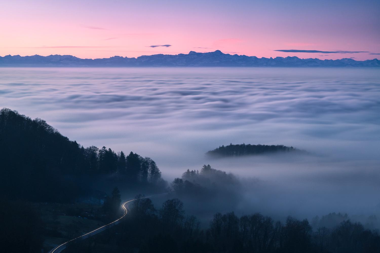 Sea of Fog by Christian Möhrle