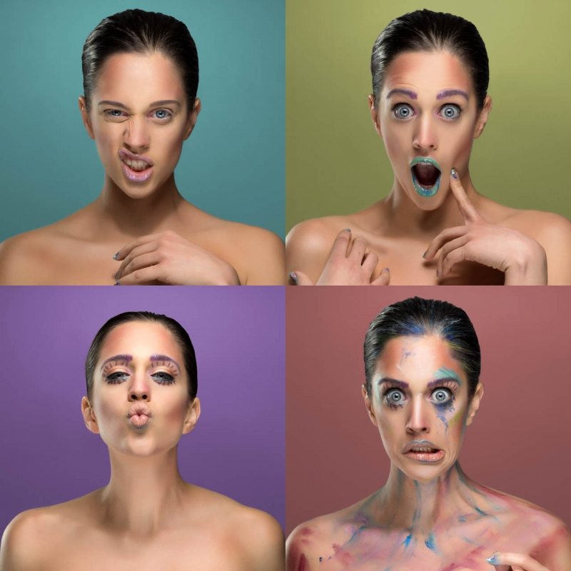 4 Faces of Beauty by Henry Louey