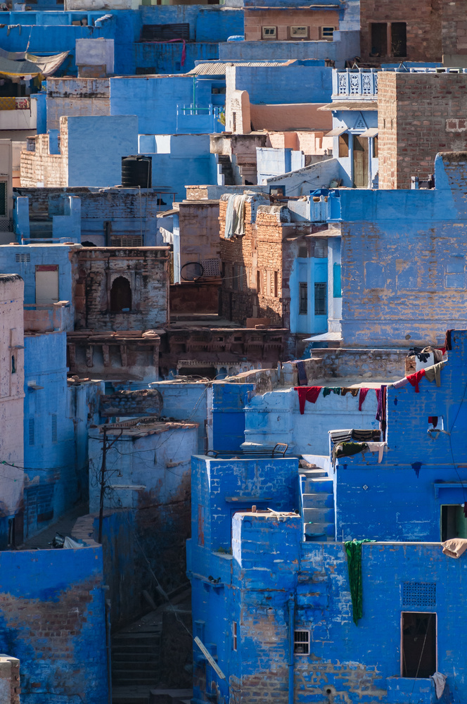 Jodhpur from Mehrangarh Fort - Jodhpur, Rajasthan, India by Mike Weiser