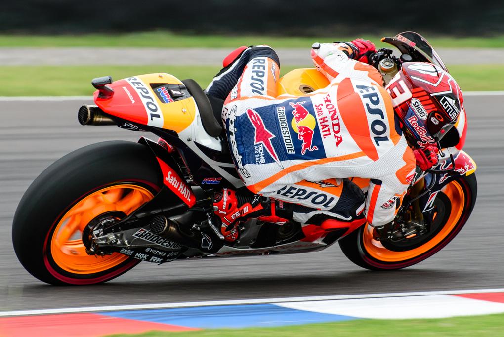 Marc Marquez - MotoGP Argentina by Simón Bravin
