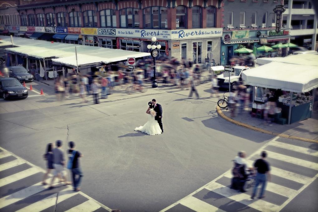 Byward Market Ottawa by Troy St. Louis