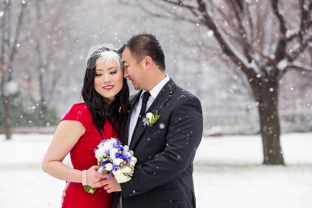 Ottawa Winter Wedding by Troy St. Louis