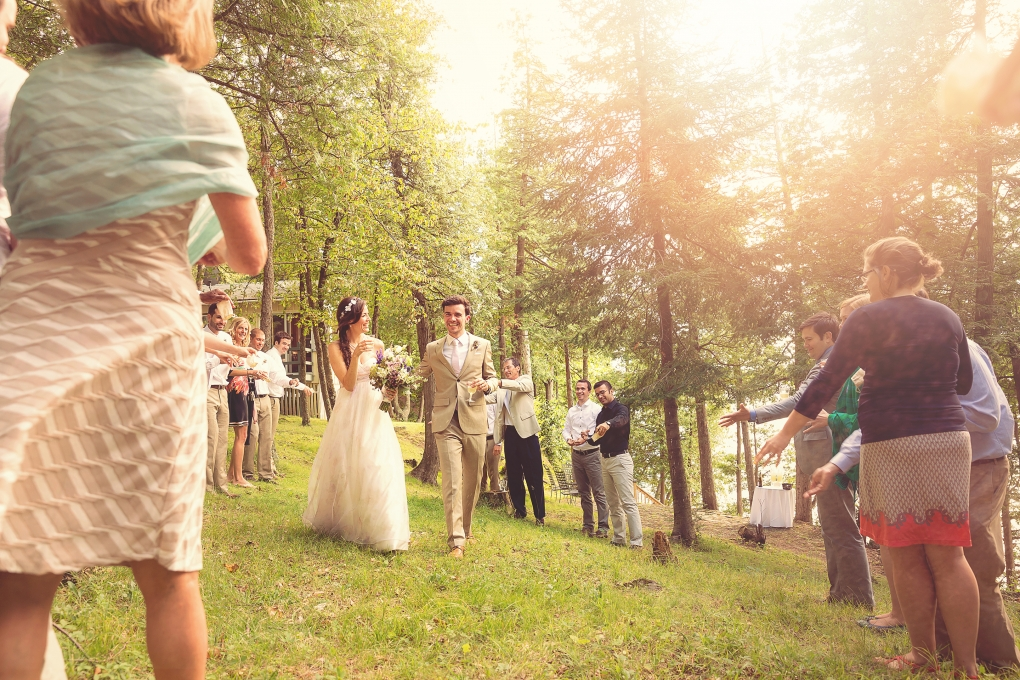 Outdoor Wedding Celebration by Troy St. Louis