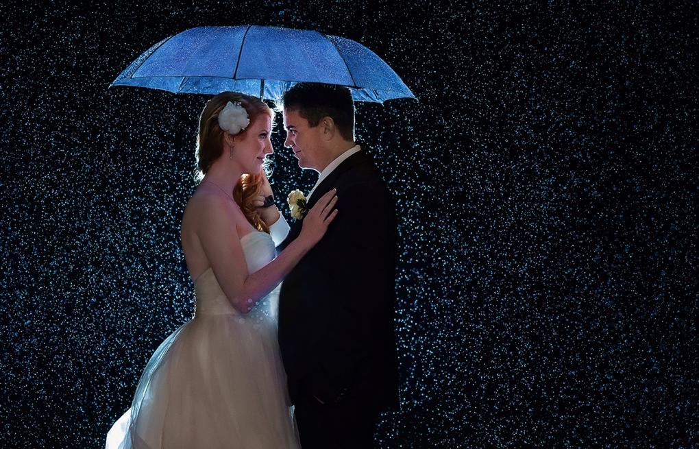Rainy Wedding by Troy St. Louis