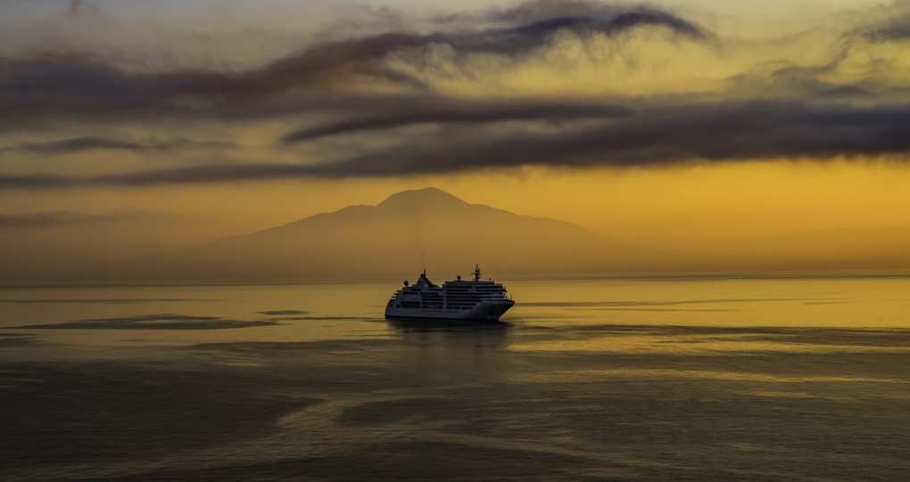 Sunrise on Mt. Vesuvius by Robert McCormac