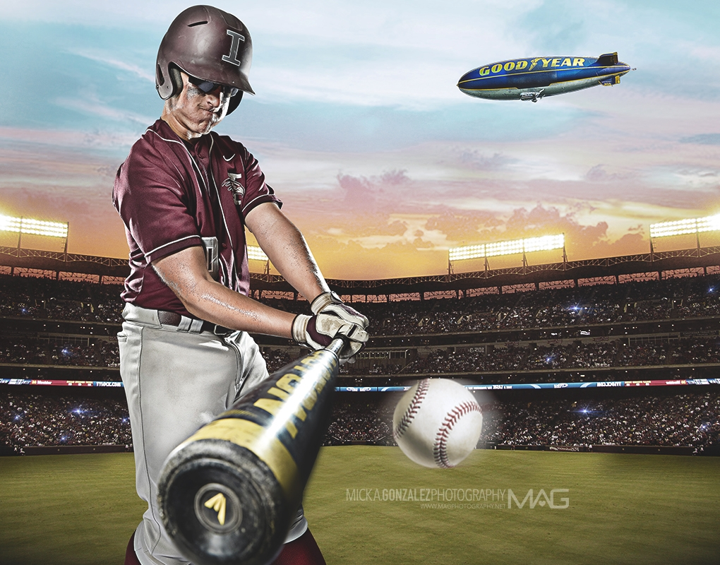 Baseball High School session by Mick Gonzalez