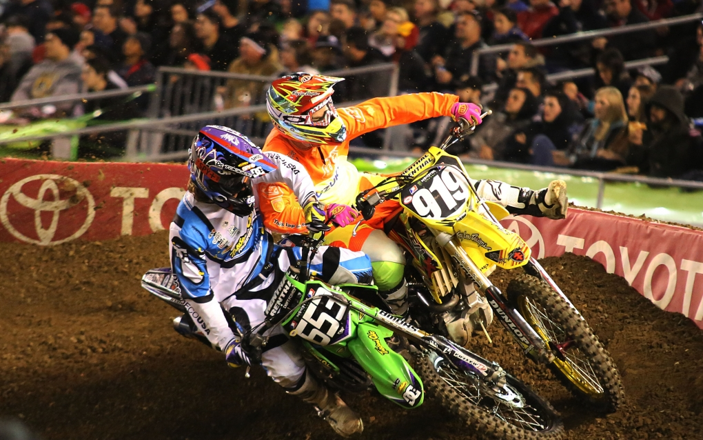 San Diego Supercross by Russell Johnston