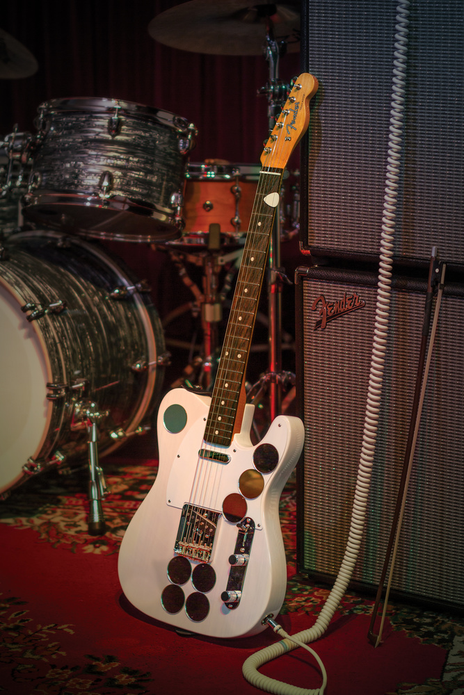 2019 Fender Jimmy Page Mirror Telecaster in White Blonde by Matt Durante