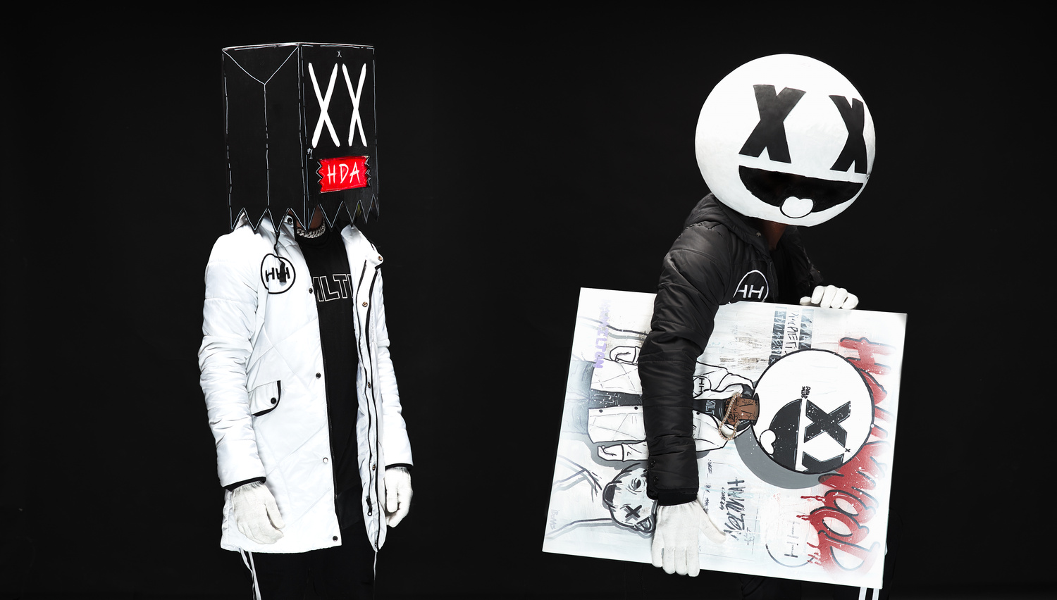 HH Hyperjackets promo images with artist ibombs by jai jacob
