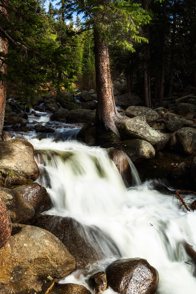 Stream, Mt. Evans, Colorado by Keith Binder