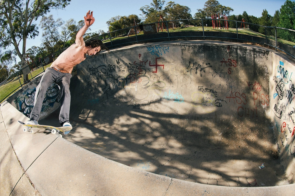 Floyd Scott - hurricane grind by Nathan Mollison