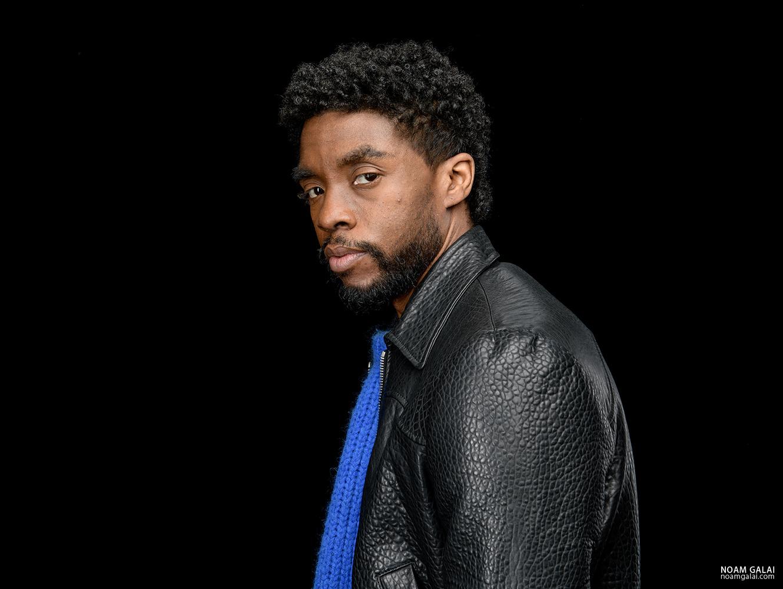 Chadwick Boseman / Black Panther by Noam Galai