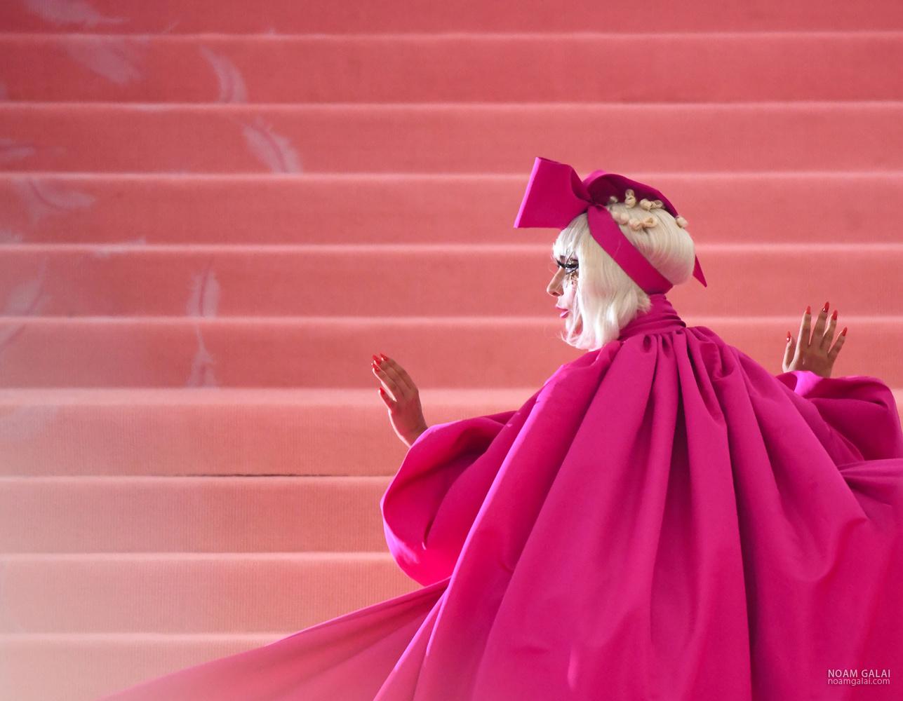 Lady Gaga by Noam Galai