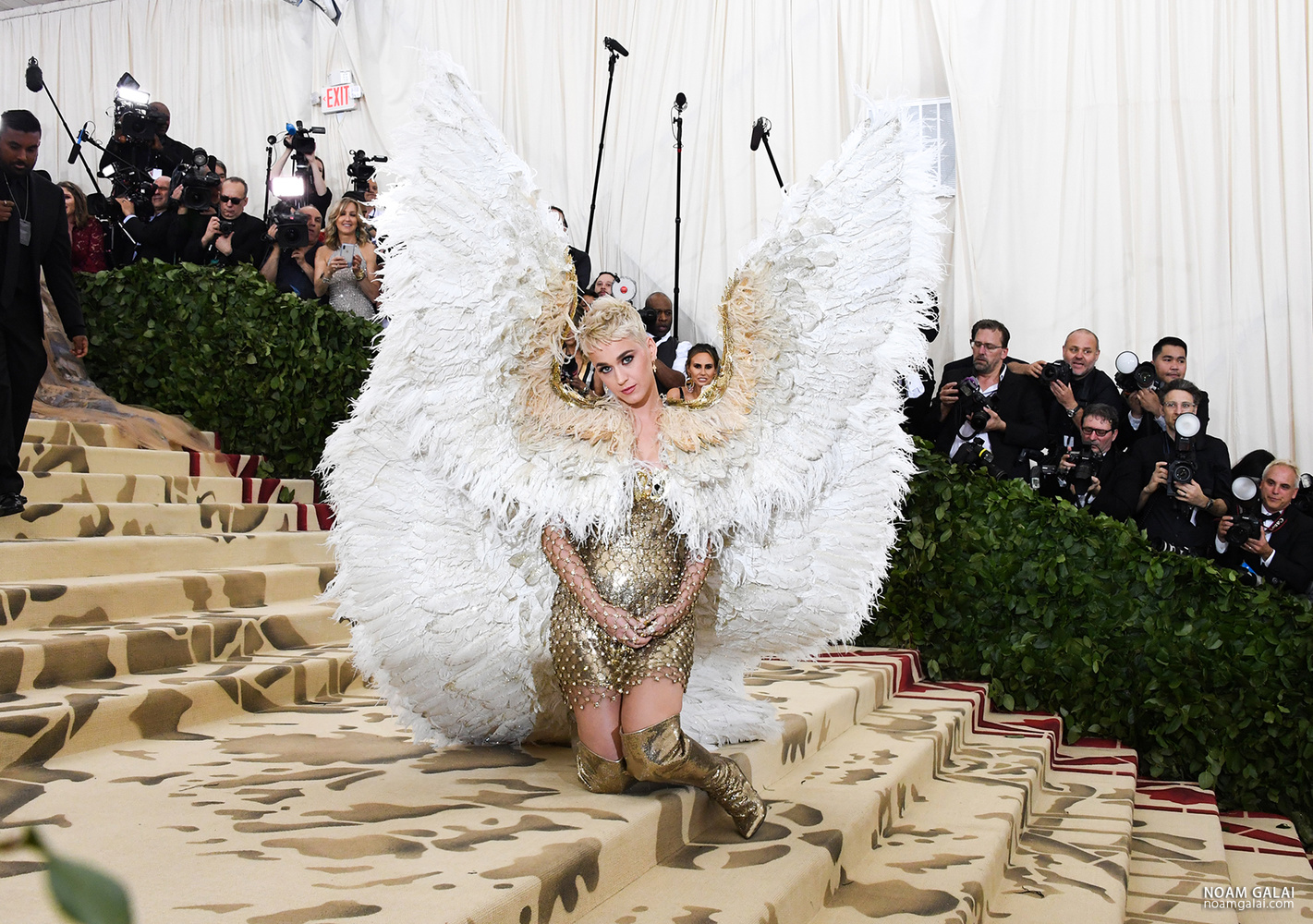 Katy Perry at the Met Gala by Noam Galai