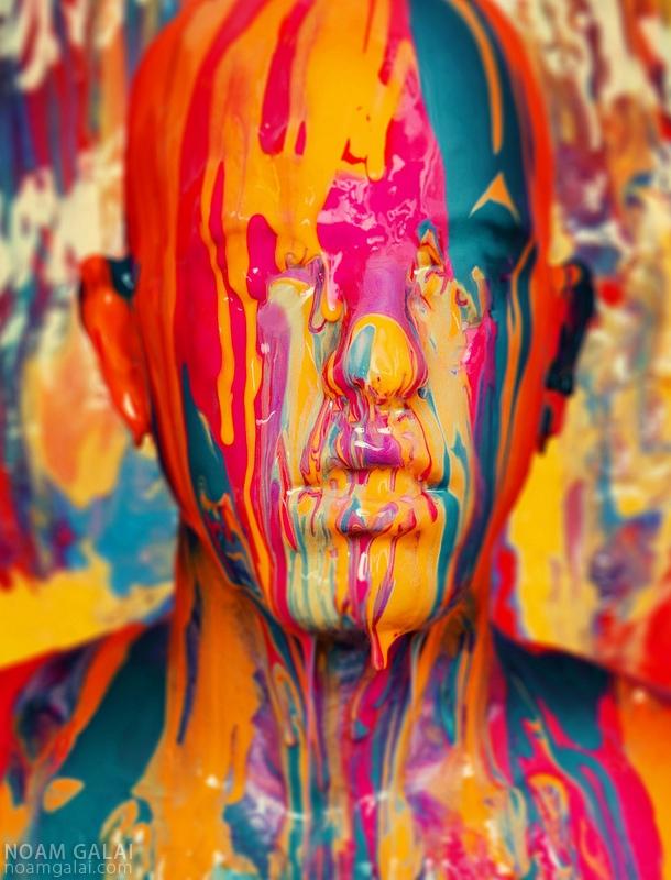 Paint Self Portrait by Noam Galai