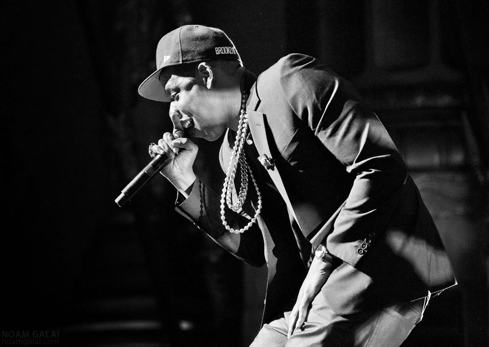 Jay-Z by Noam Galai