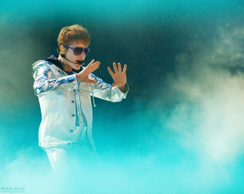 Justin Bieber by Noam Galai