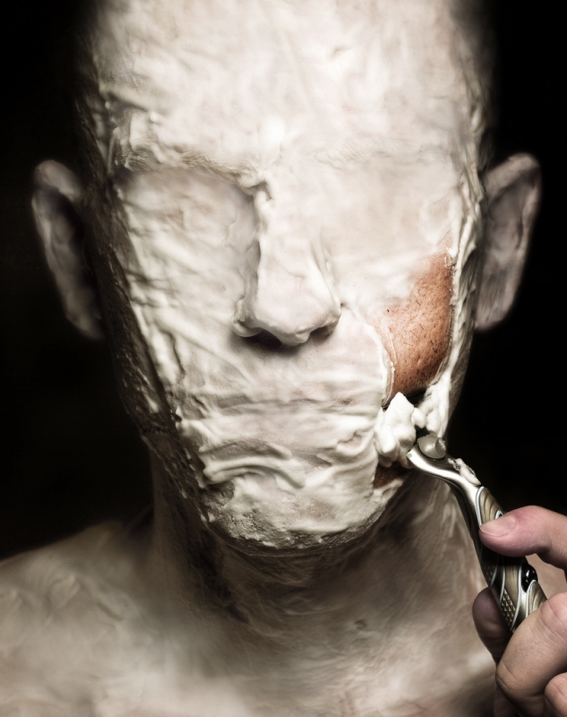 Shaving by Noam Galai