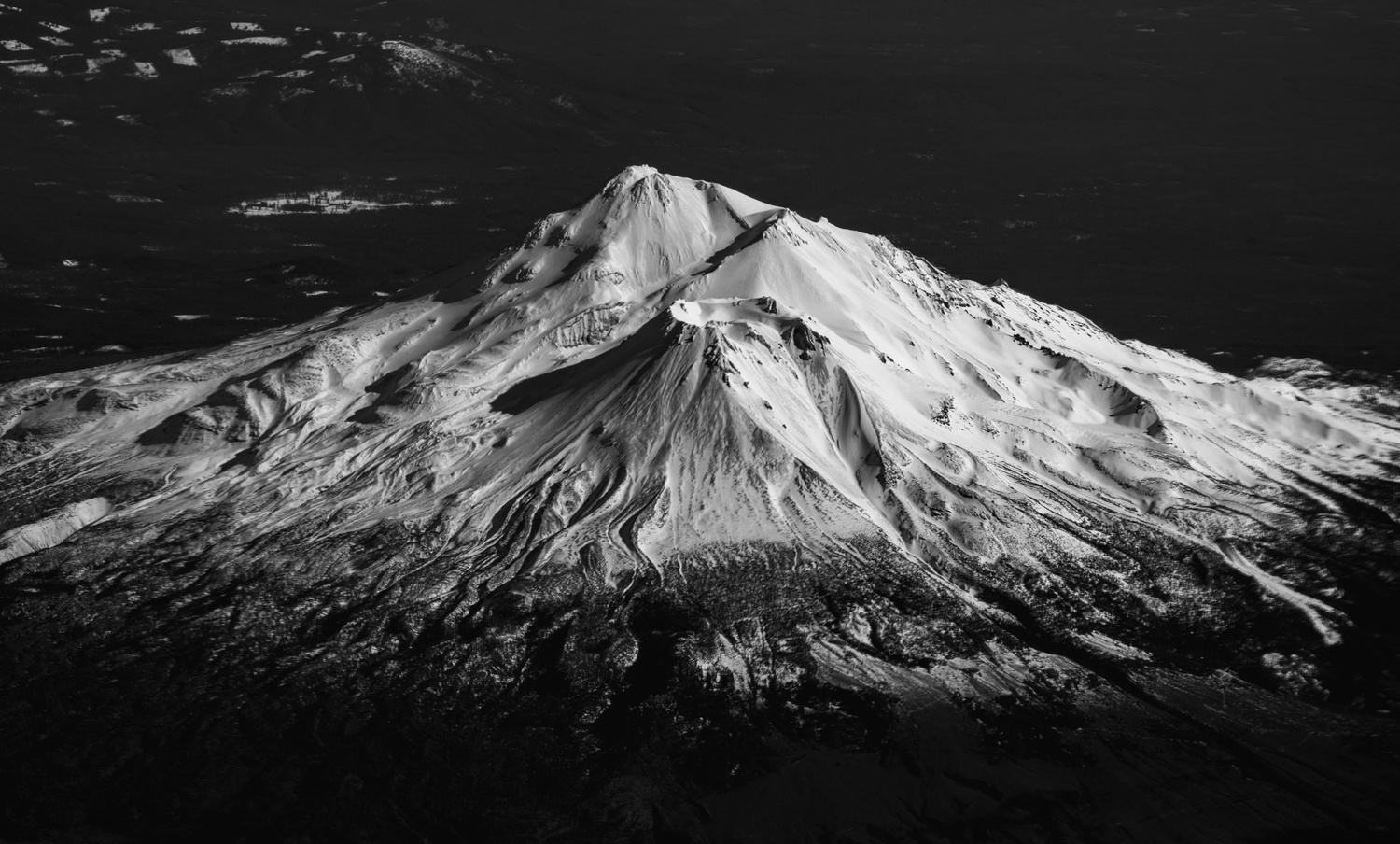 Mount Shasta by Devin Martino-Atsatt