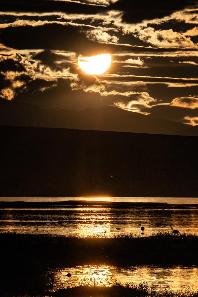 El Calafate sunset by Devin Martino-Atsatt