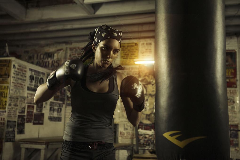 Boxing Gym by Nathan Joseph Dodson