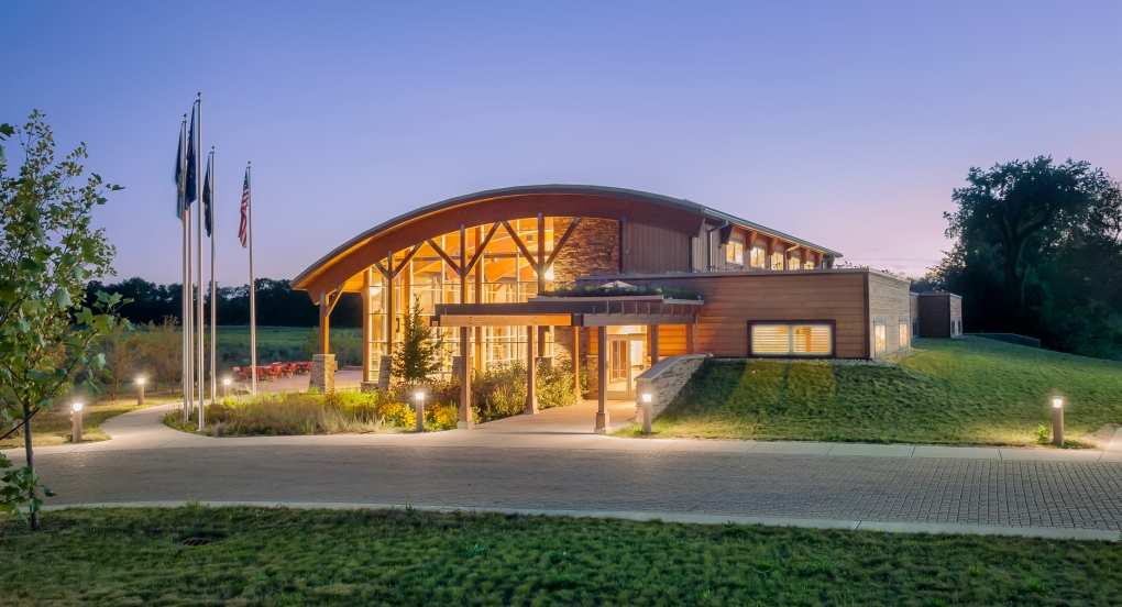 Pokagon Band of Potowatomi Indians Cultural Center by Kristian Walker