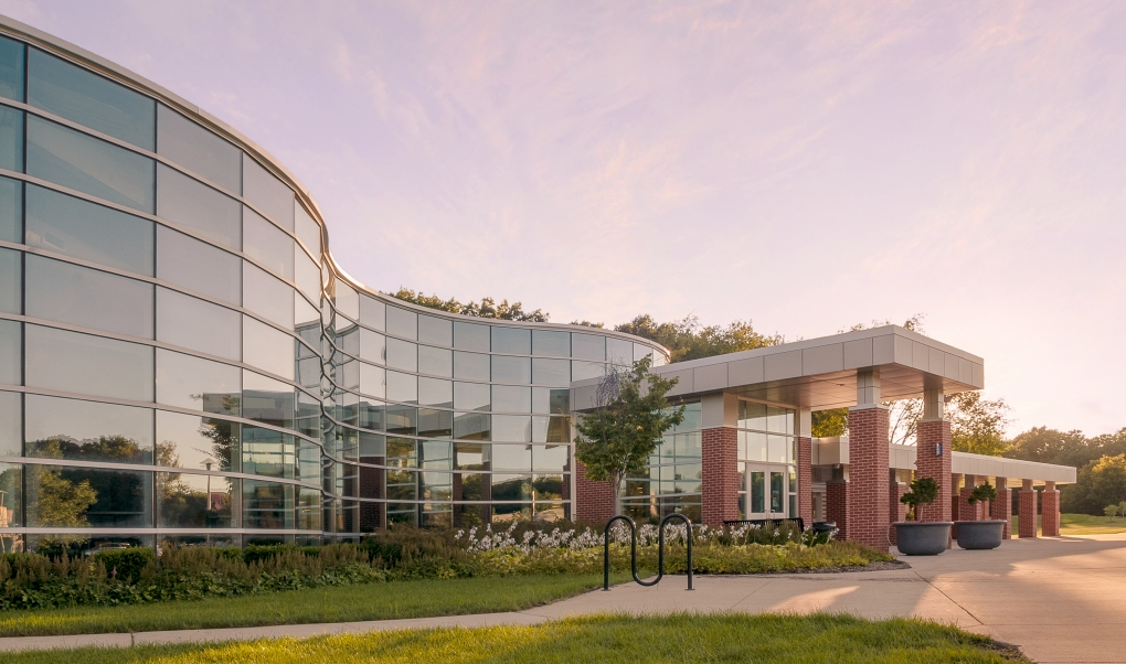 Southwestern Michigan College Student Center by Kristian Walker
