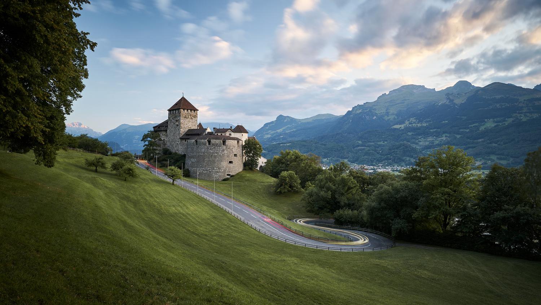 Castle Liechtenstein by Sebastian Grundgeir