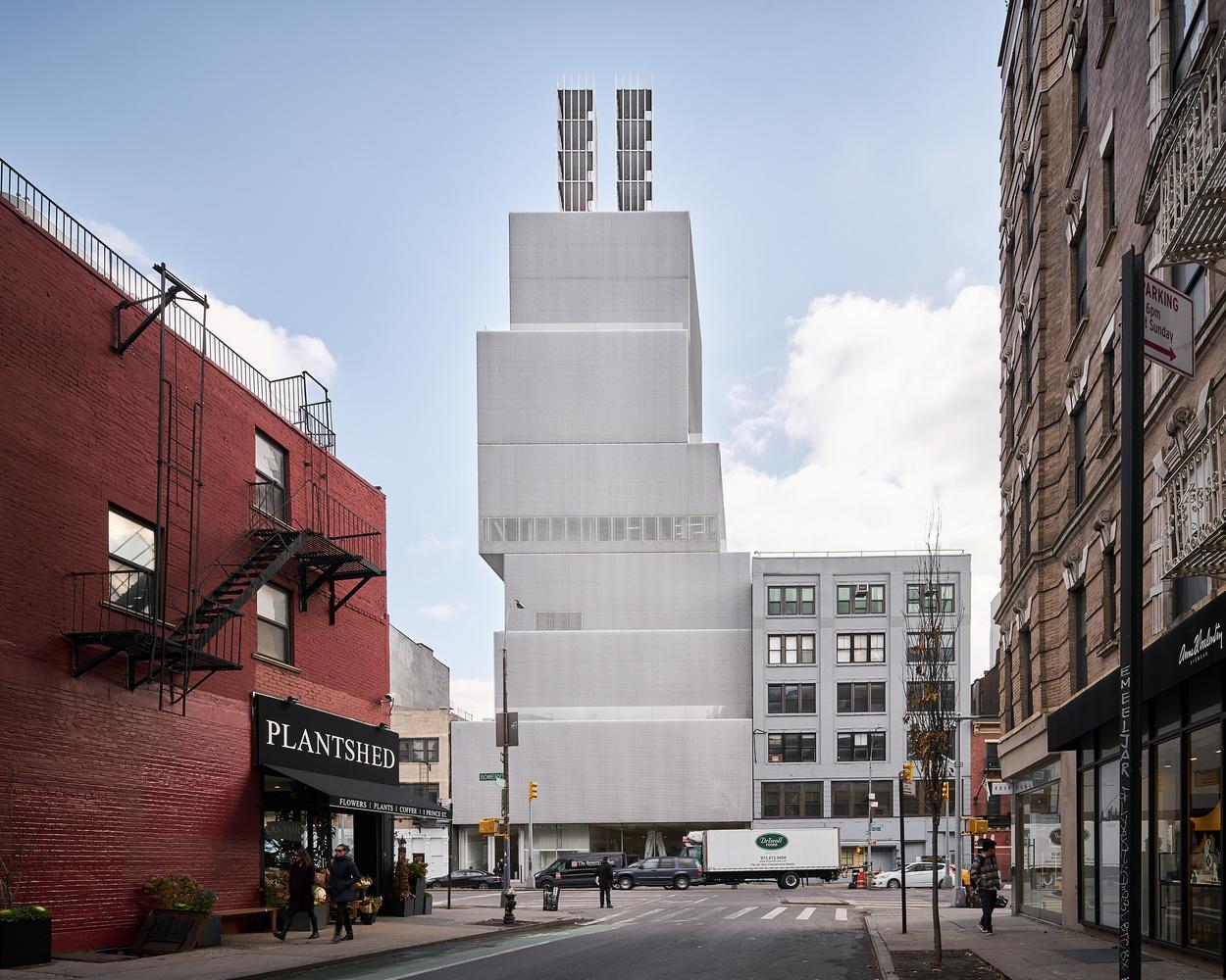 NYC New Museum by Sebastian Grundgeir