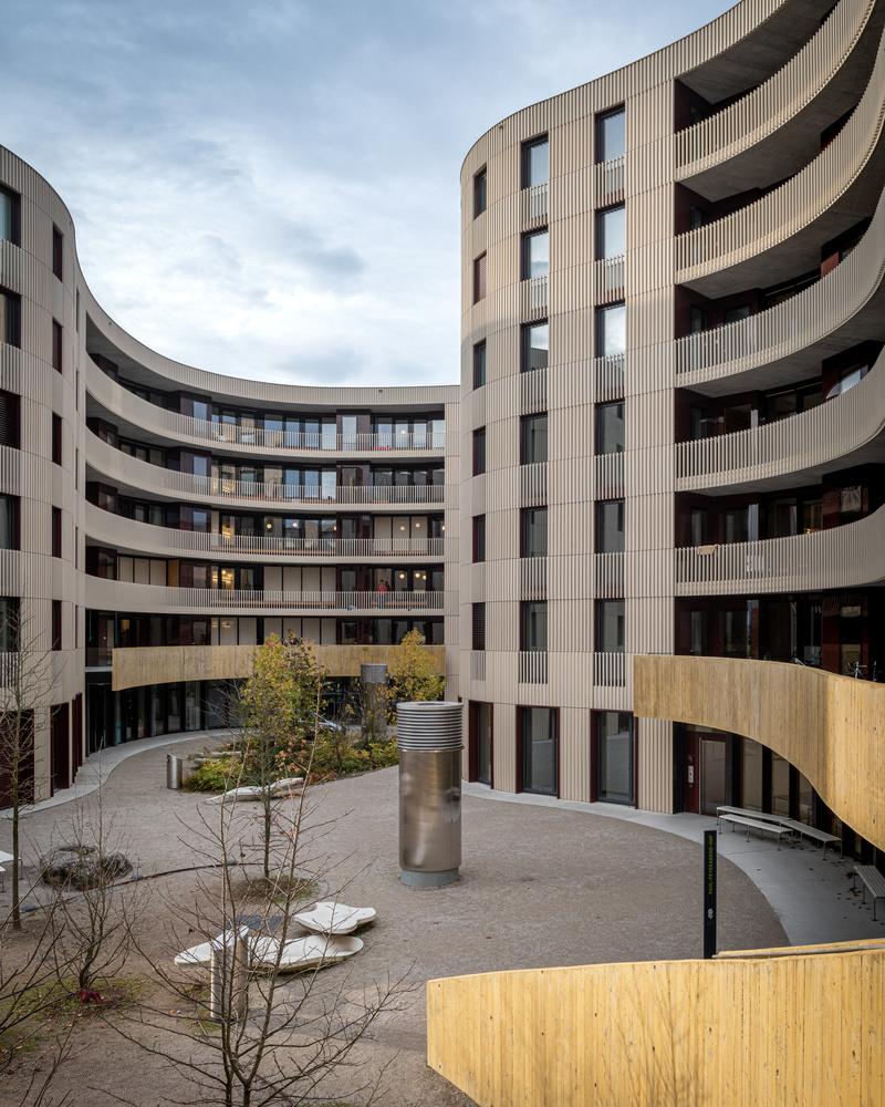 Student dorm ETH Zurich by Sebastian Grundgeir