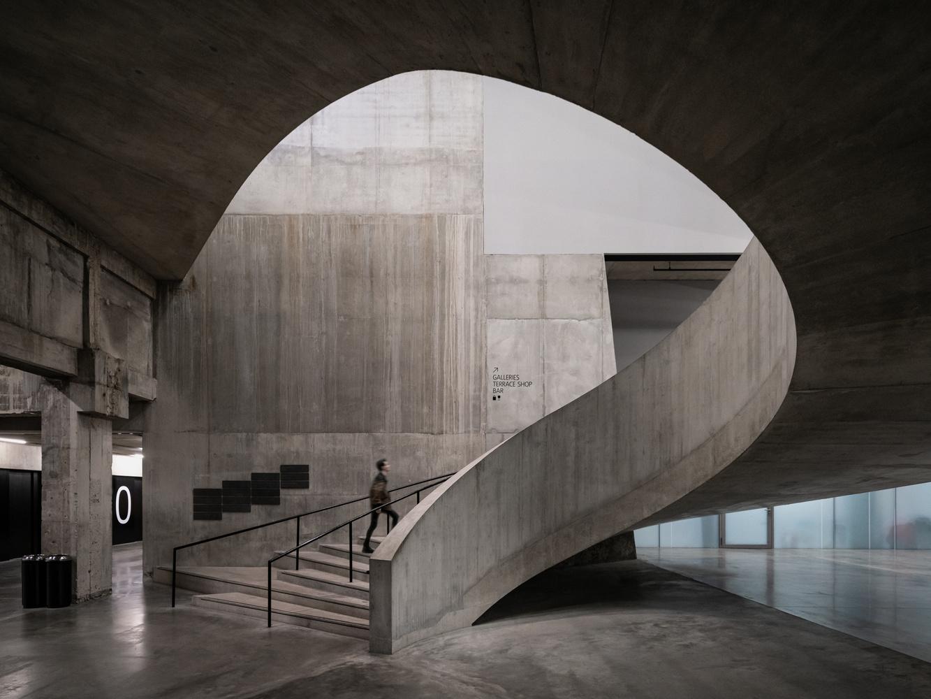 The Tanks   Tate Modern by Sebastian Grundgeir