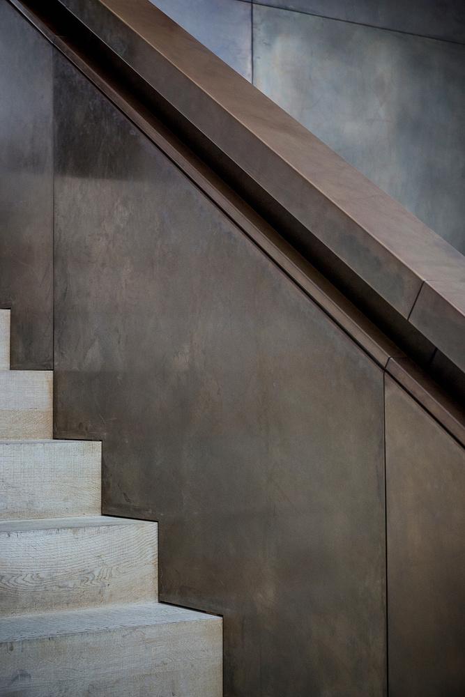 Vorarlberg museum | Stair Detail by Sebastian Grundgeir
