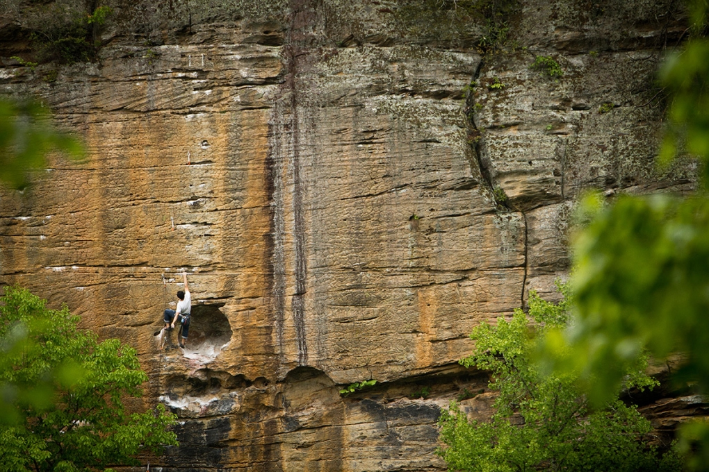 Banshee at the Red River Gorge by Mike Wilkinson