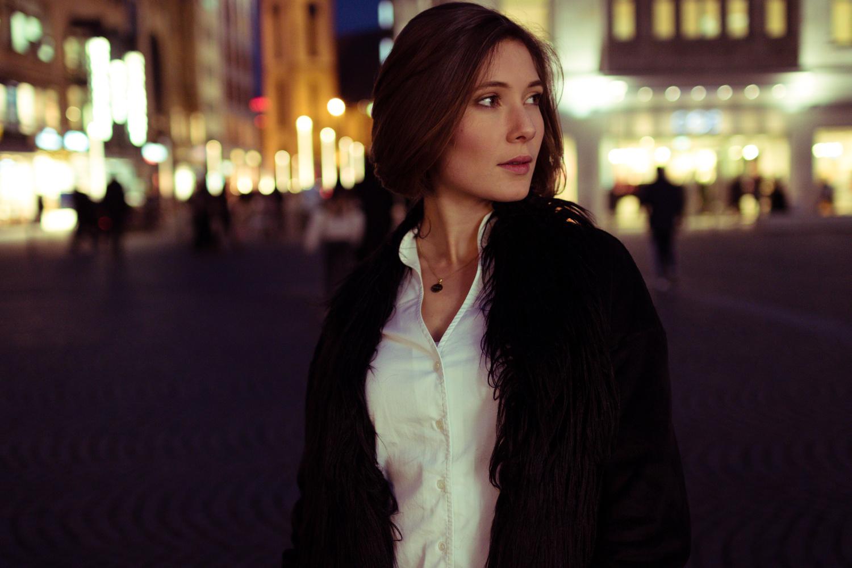 Night Portrait by Sam S