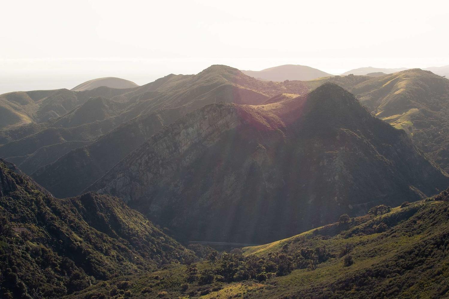 California Sun Rays by Liam Searson